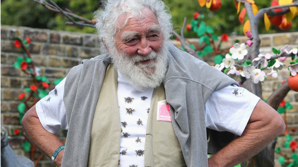 David Bellamy at the Chelsea Flower Show in 2009