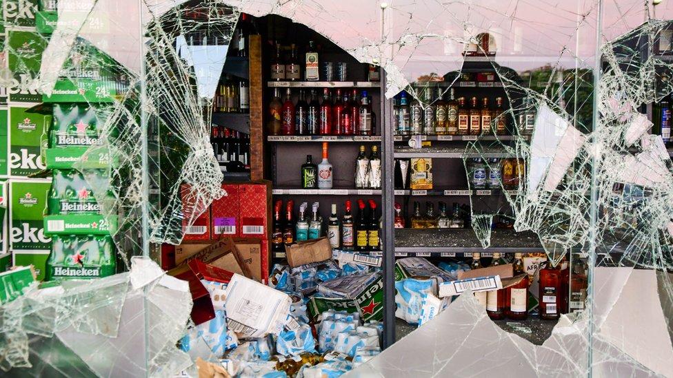 Opljačkana prodavnica pića