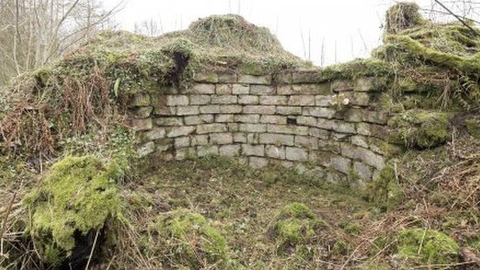 Remains of Tibbers Castle