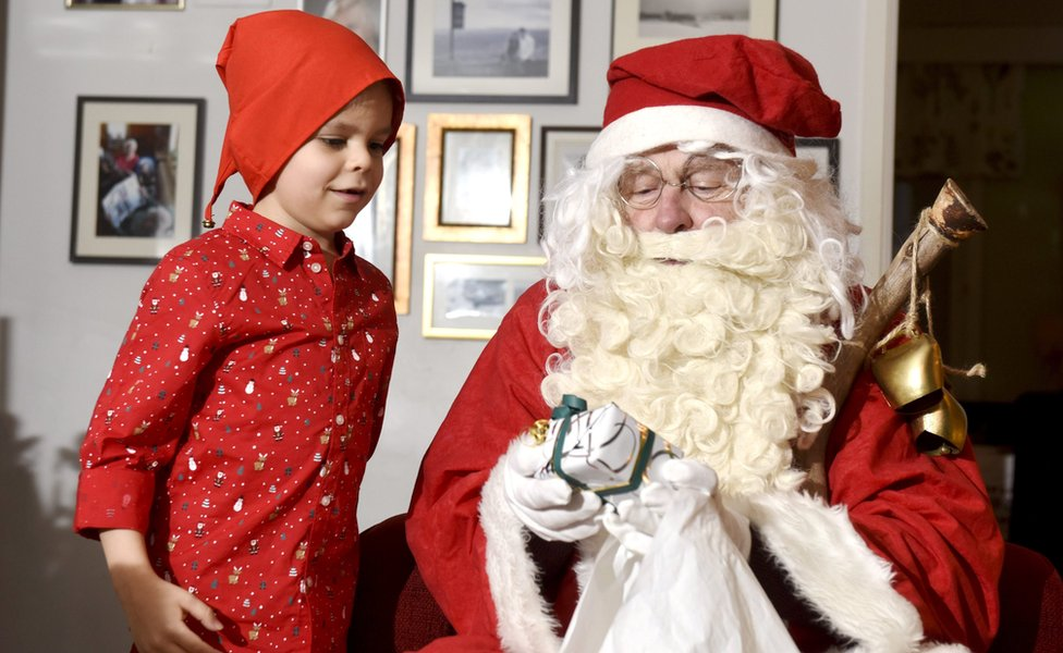 Deda Mraz u Finskoj