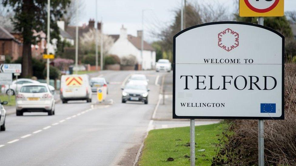 Telford sign