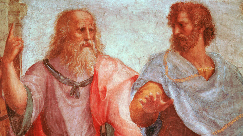 Detail from School of Athens by Raphael