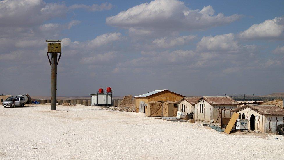Una base militar estadounidense abandonada