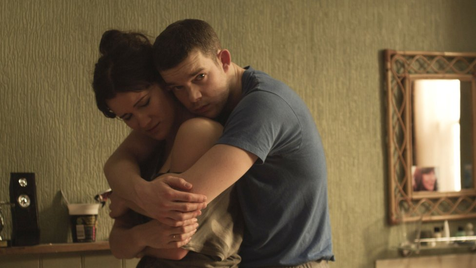 Russell Tovey and Sarah Solemani as Steve and Becky