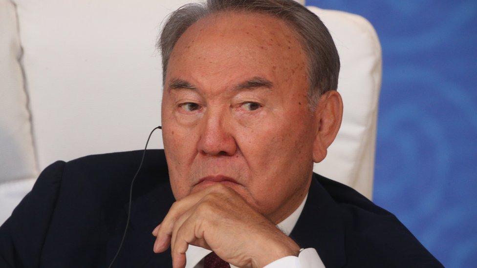 Nursultan Nazarbajev Predsednik Kazahstana