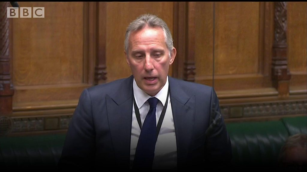 Ian Paisley's personal statement to the House of Commons in full