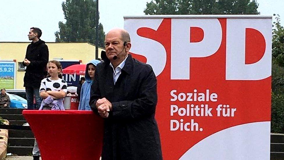 奧拉夫·舒爾茨(Olaf Scholz)