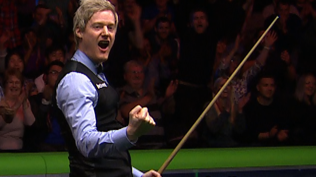 UK Championship: Neil Robertson makes 147 in final