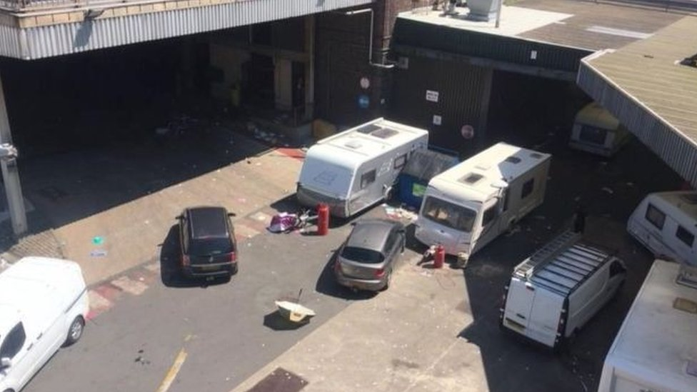 Thwaites Brewery traveller camp: Man admits blackmail plot