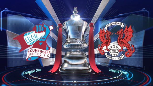 FA Cup: Scunthorpe 3-0 Leyton Orient highlights