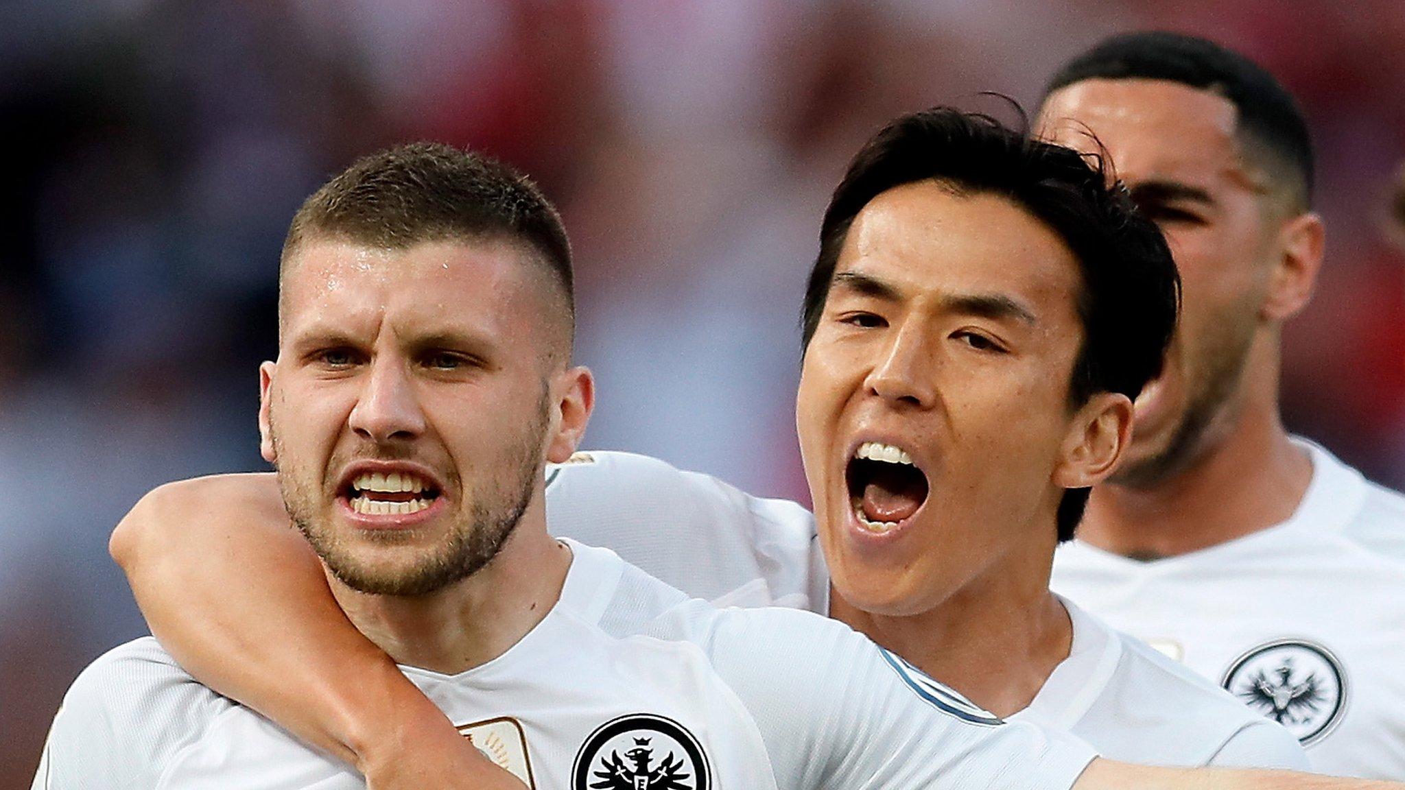 Eintracht Frankfurt shock Bayern in German Cup final