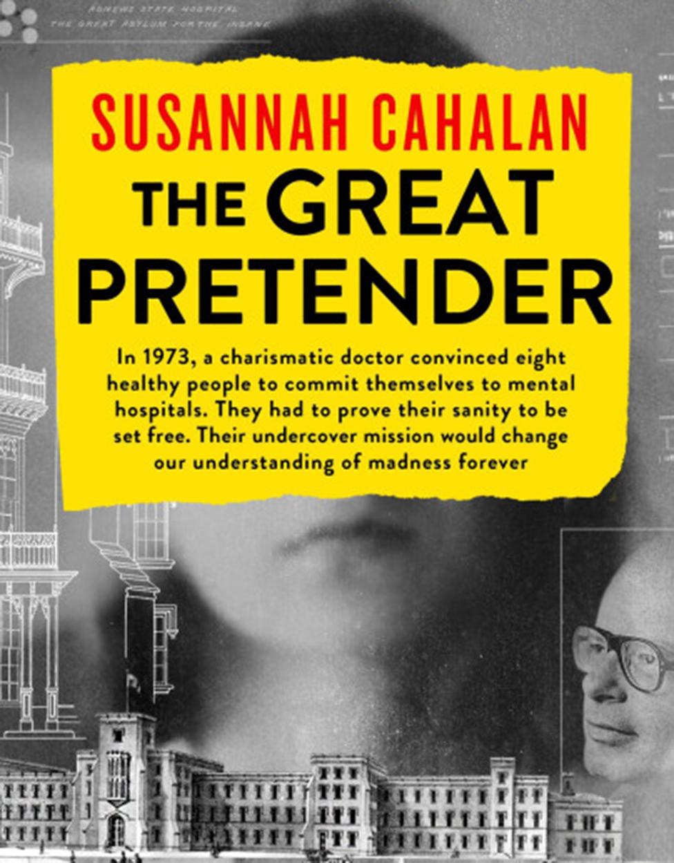 """The Great Pretender (""""El gran farsante""""), el libro de Susannah Cahalan."""