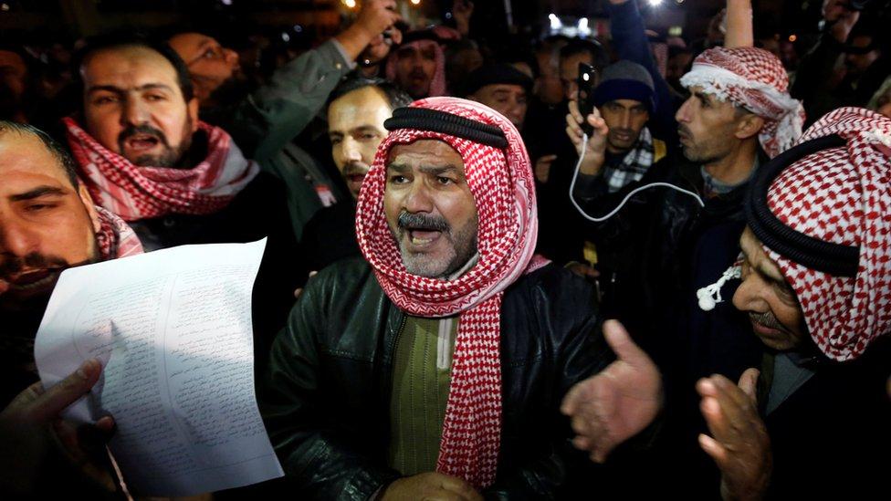 المحتجون الأردنيون ضد الغلاء سمو حراكهم بال