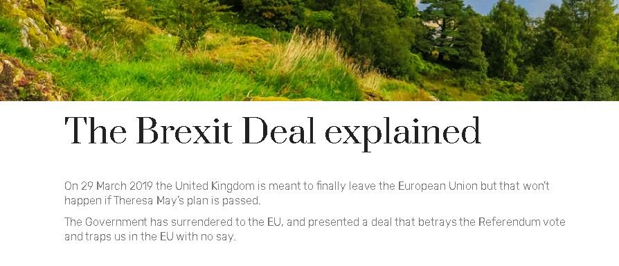 """The Brexit Deal explained"""