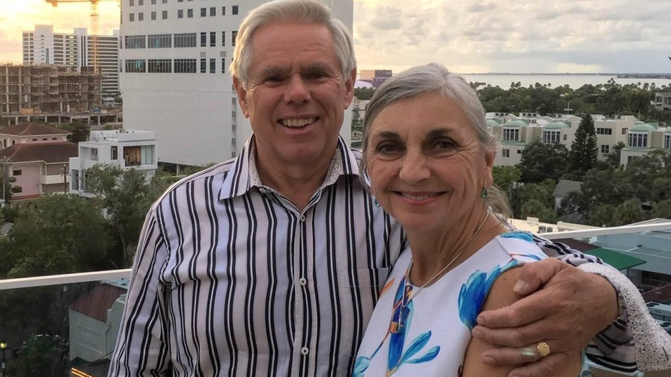 Paul and Diana Wilkinson