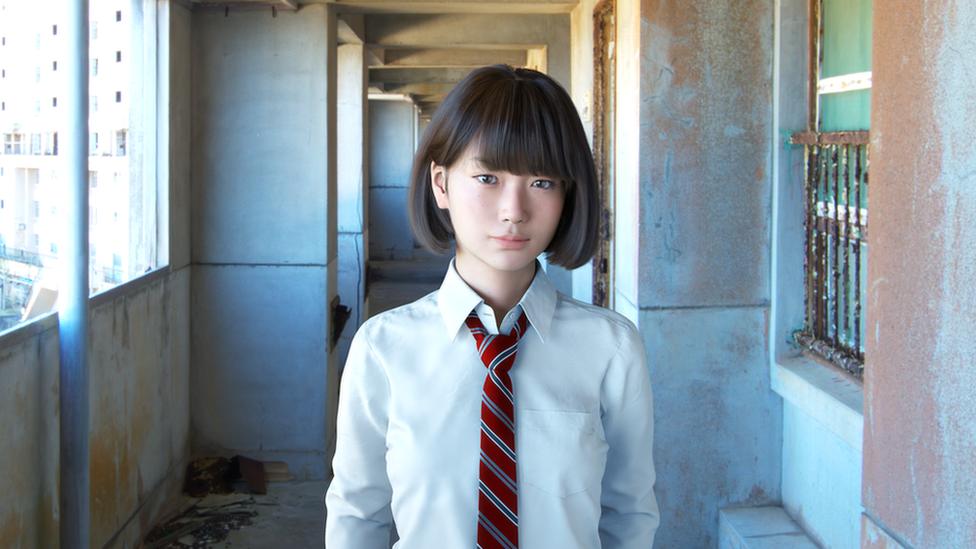 CG picture of Saya