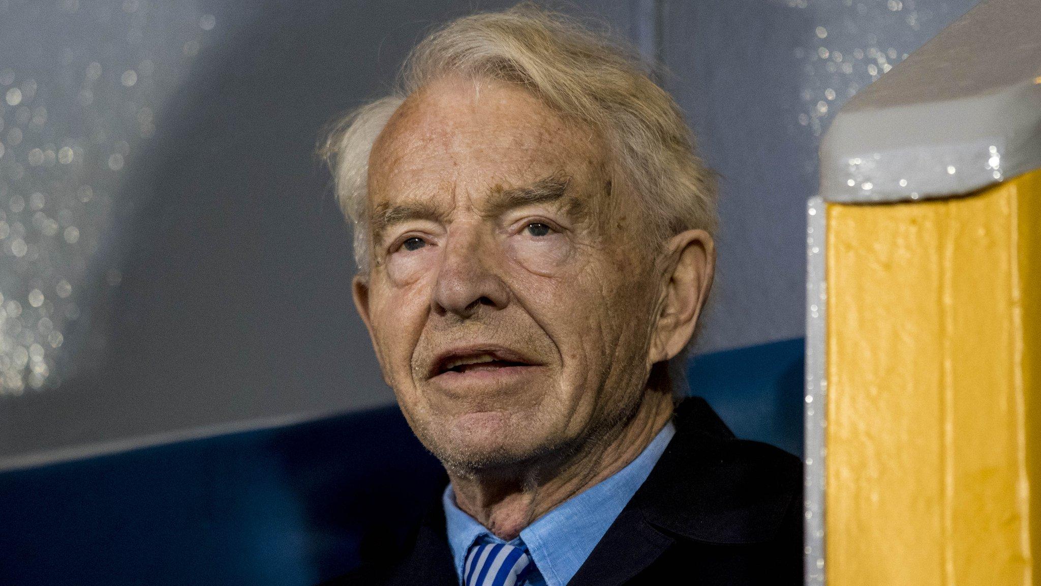 Greenock Morton chairman Douglas Rae dies, aged 87