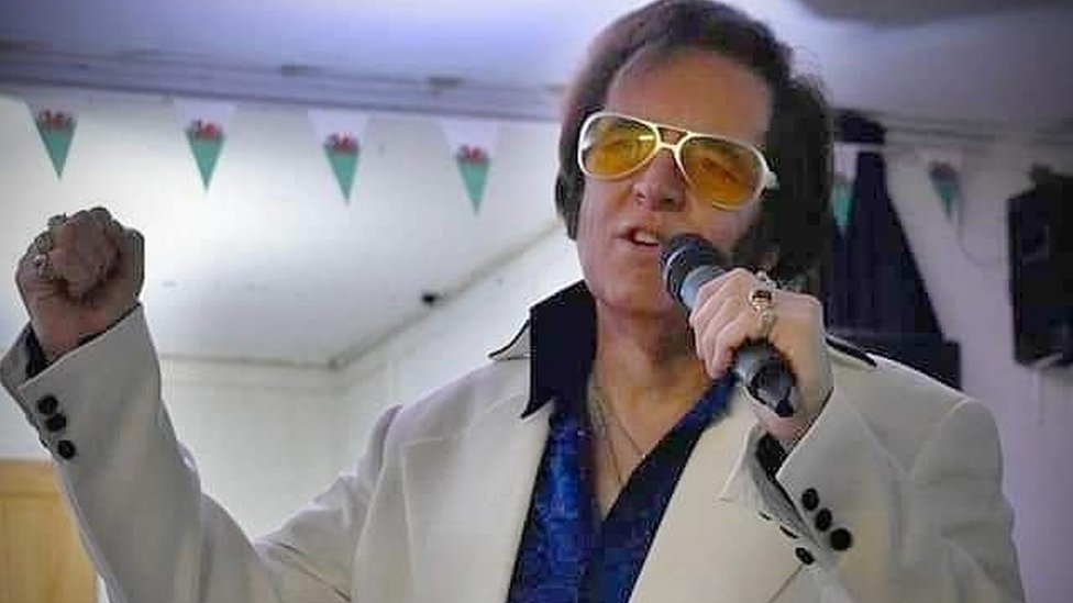 BBC News - New Year Honours: Bangor Elvis impersonator recognised
