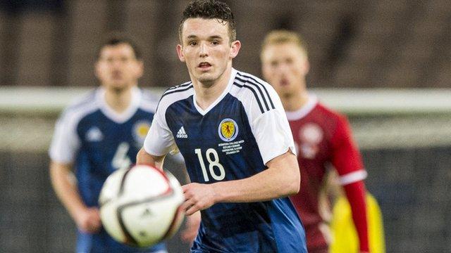 Scotland midfielder John McGinn