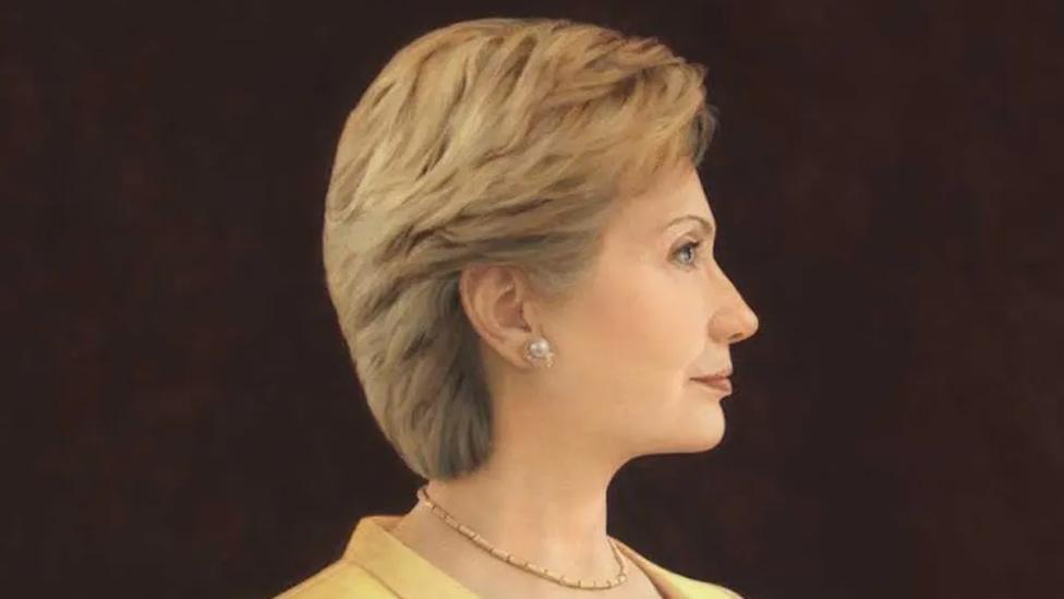 Los partidarios de Hillary Clinton vieron en su retrato a una mujer segura de sí misma y de su capacidad