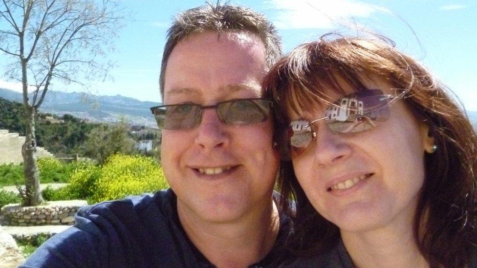 Elaine Tarling and Matt