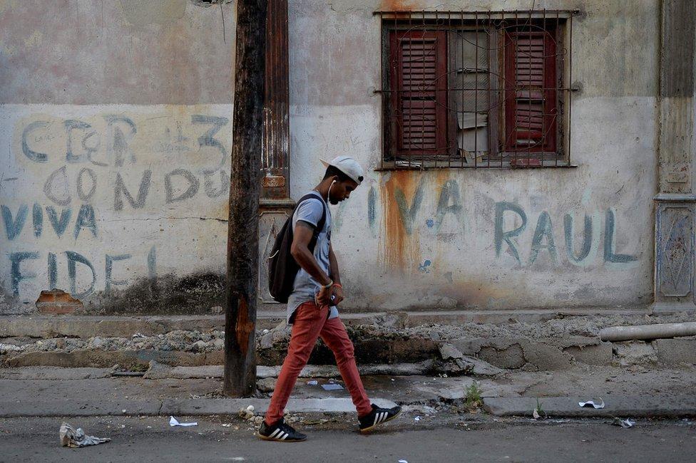 Havana, Castro