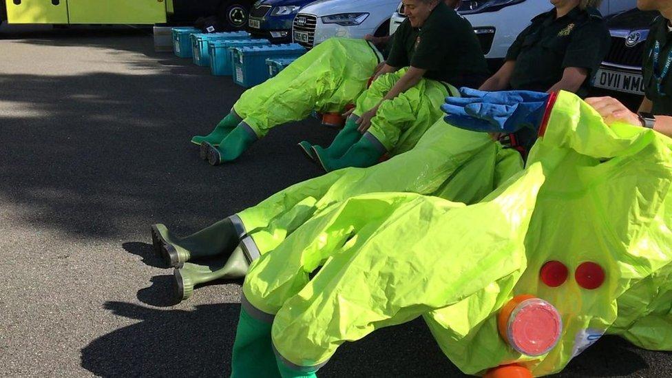 Hundreds more West Midlands ambulance staff get terror training