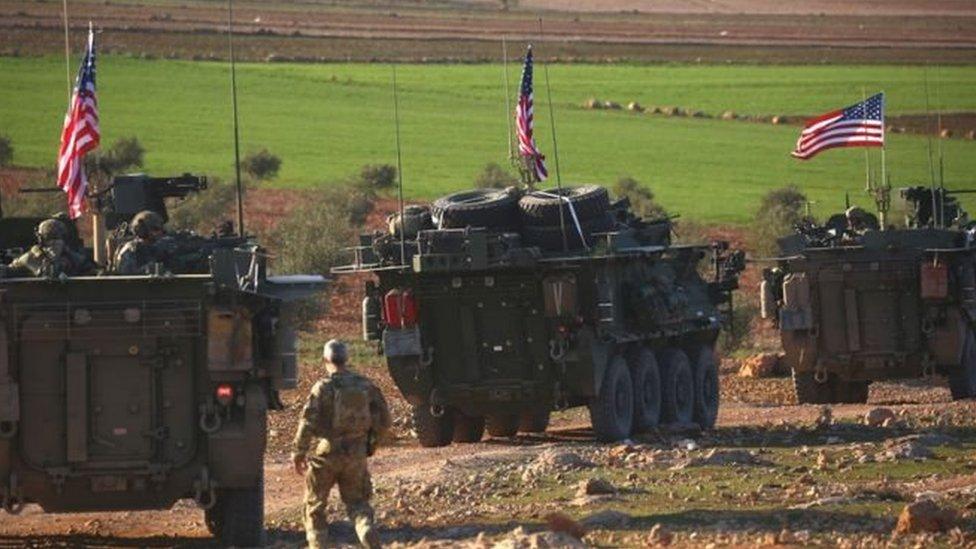 تركز وجود القوات الأمريكية في المناطق الكردية شمالي سوريا