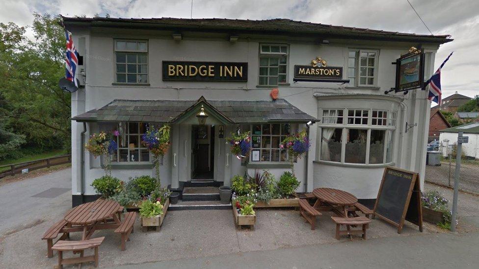 Man found injured outside Audlem pub dies