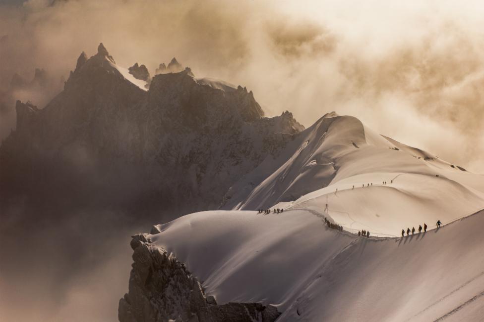 Spuštanje niz Alpe