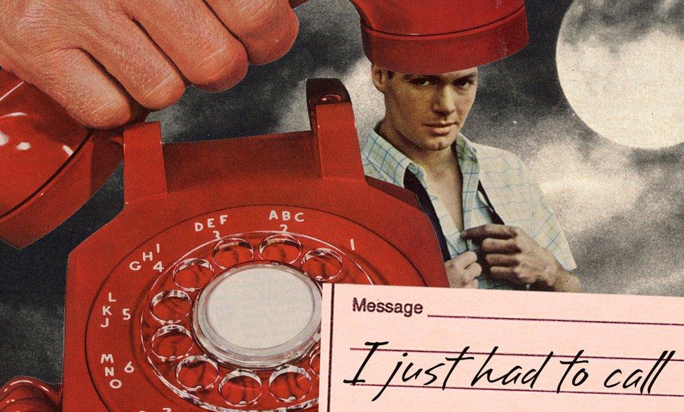 صورة توضيحية لرجل يحاول الاتصال بشخص ما