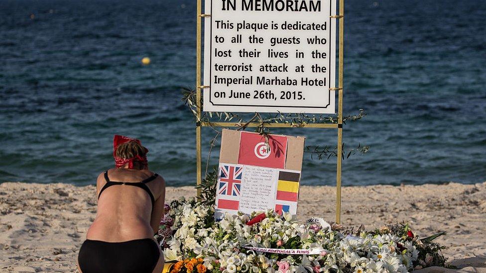نصب تذكاري لضحايا اعتداء سوسة