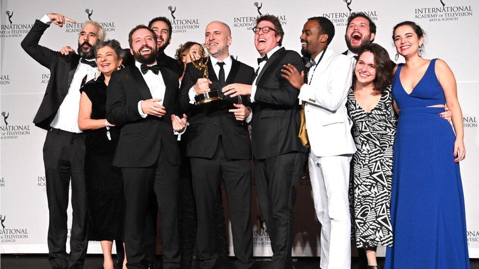 Porta dos Fundos at the 2019 International Emmy Awards Gala