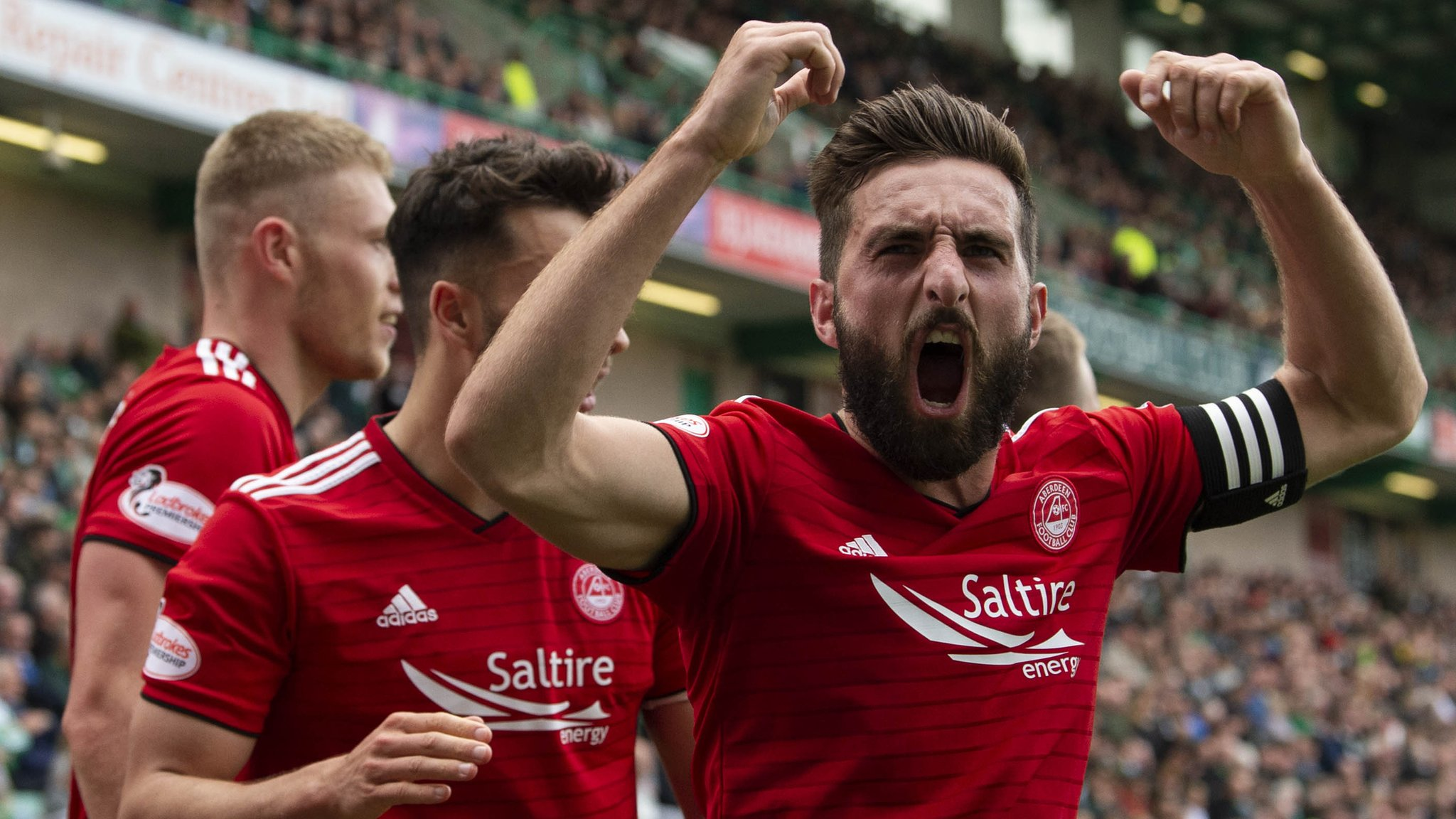 Hibs beaten by Aberdeen in final league match