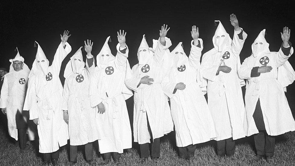 Miembros del Ku Klux Klan