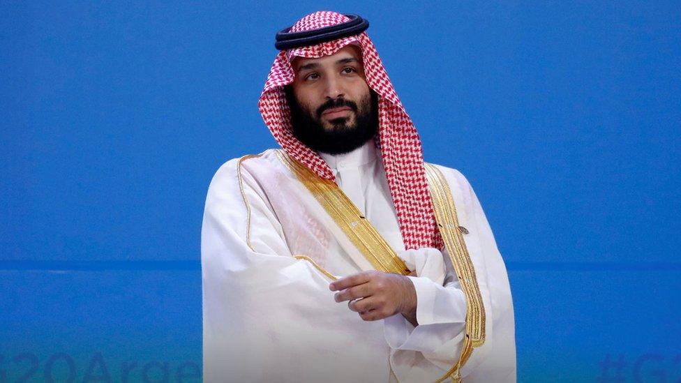Mohamed bin Salmán.