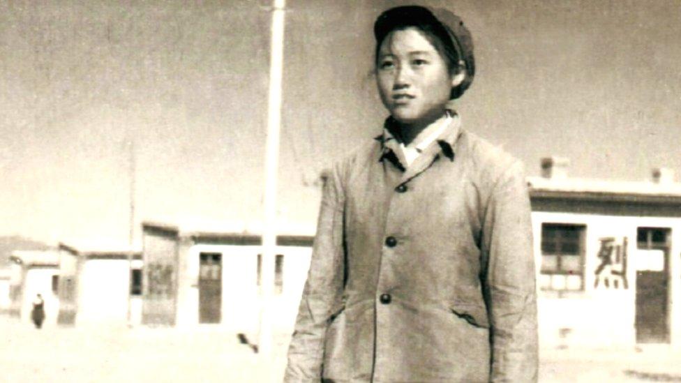 Li Yinhe as a child
