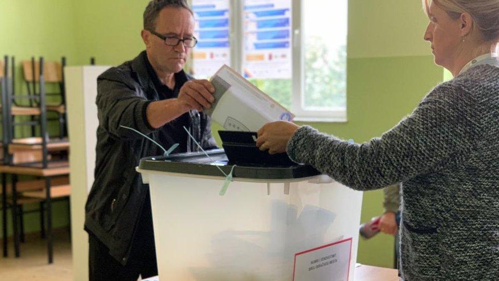 Glasanje u Gračanici