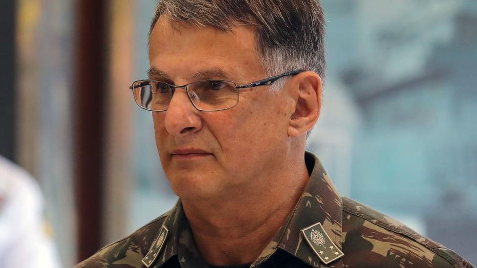 Edson Pujol, excomandante del ejército brasileño