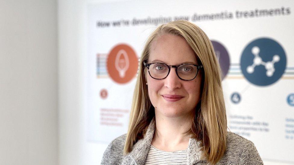 Laura Phipps, da Alzheimer's Research UK