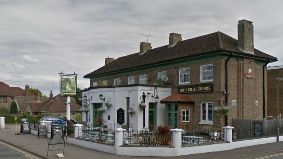 Man dies after pub brawl in Sunbury-on-Thames