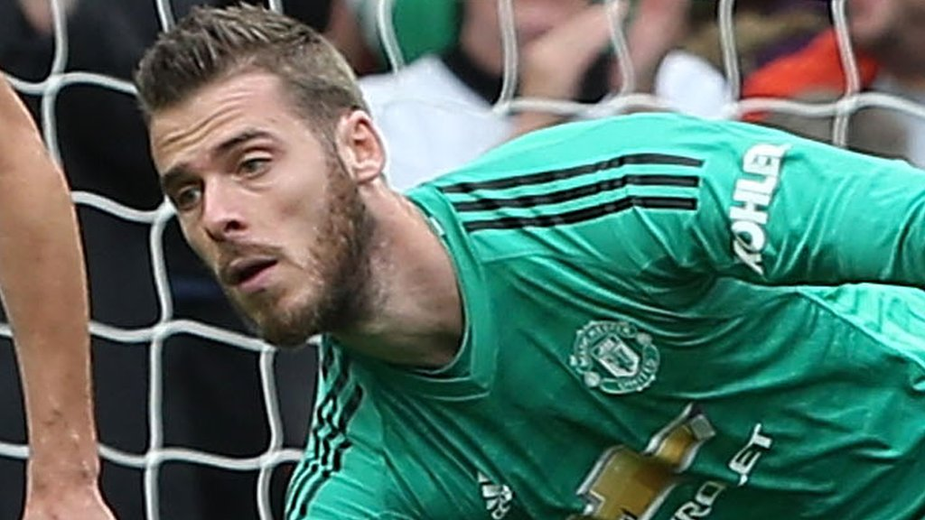 De Gea is in again - but who else makes Garth Crooks' team of the week?
