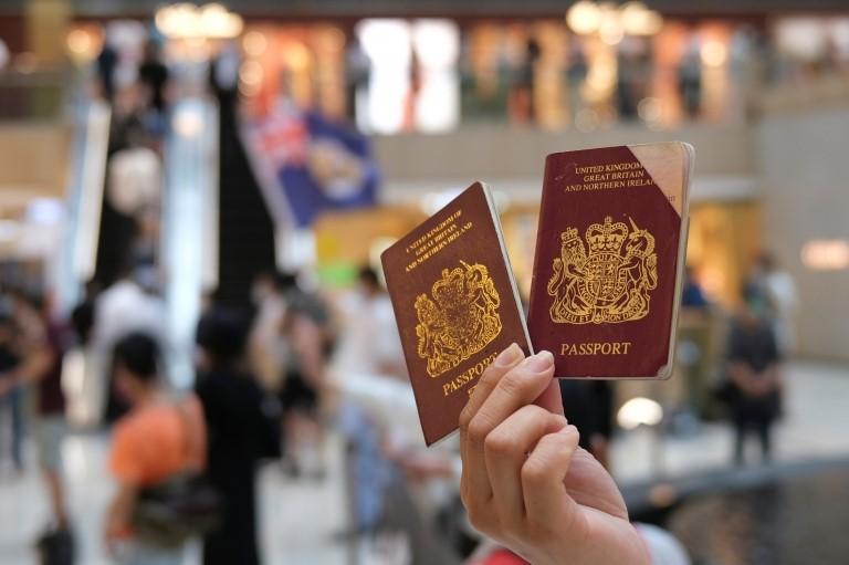 英國國民(海外)護照
