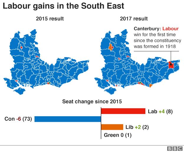 South-east England maps
