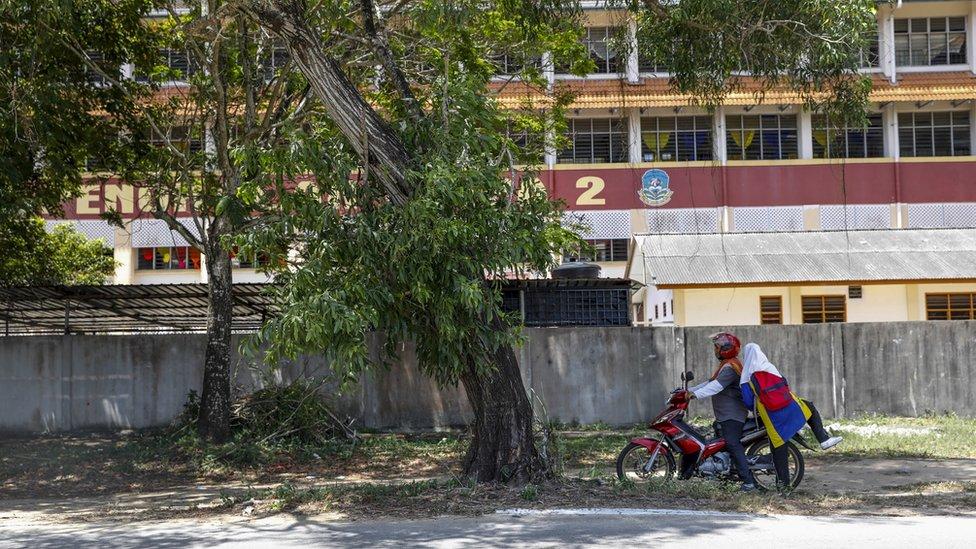 la escuela SMK Pengkalan Chepa 2