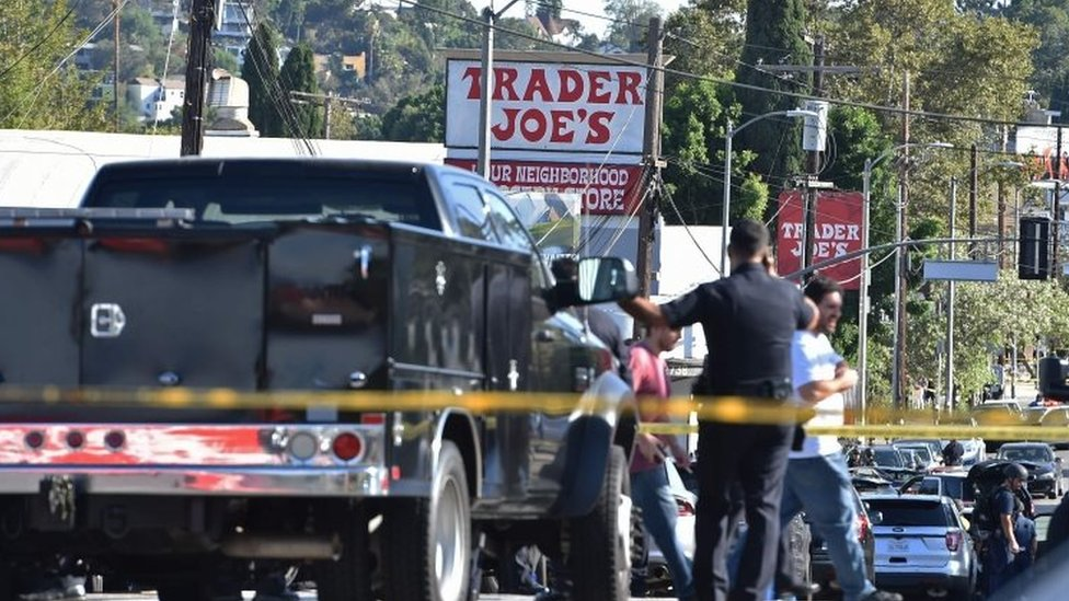 LA police arrest suspect after deadly shop siege