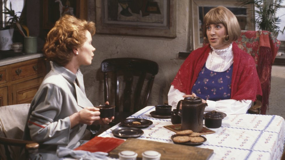 Celia Imrie and Victoria Wood in As Seen on TV