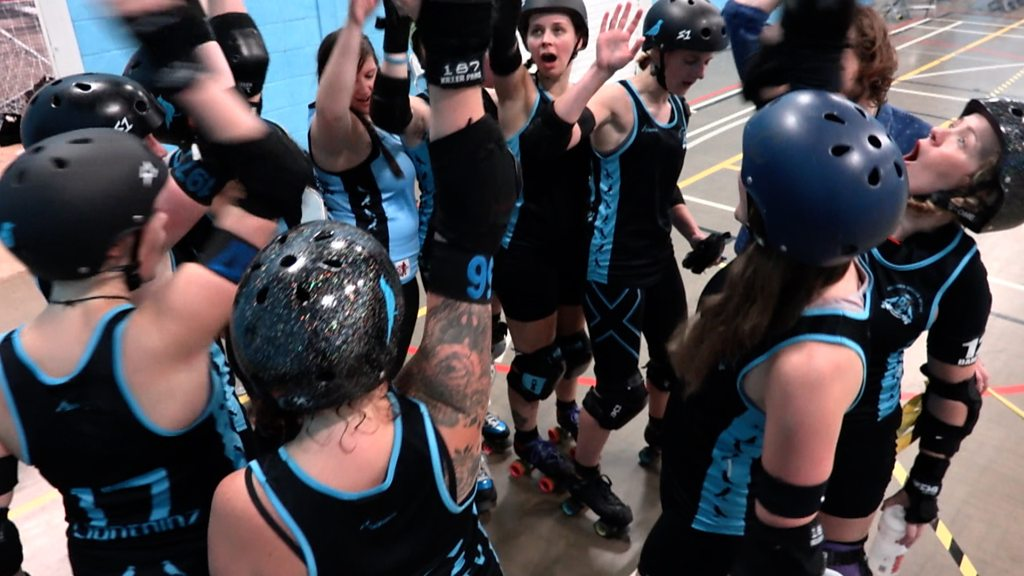 Roller derby: How the sport 'empowers me'