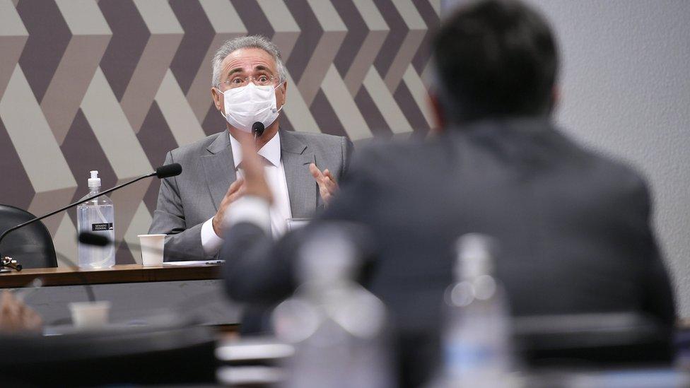 Renan Calheiros discute com senador Ciro Nogueira