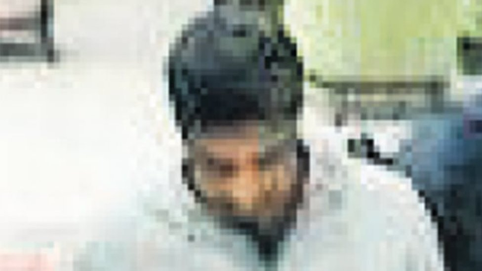 Istanbul airport CCTV footage purportedly showing Khalid Aedh G Alotaibi on 2 October 2018